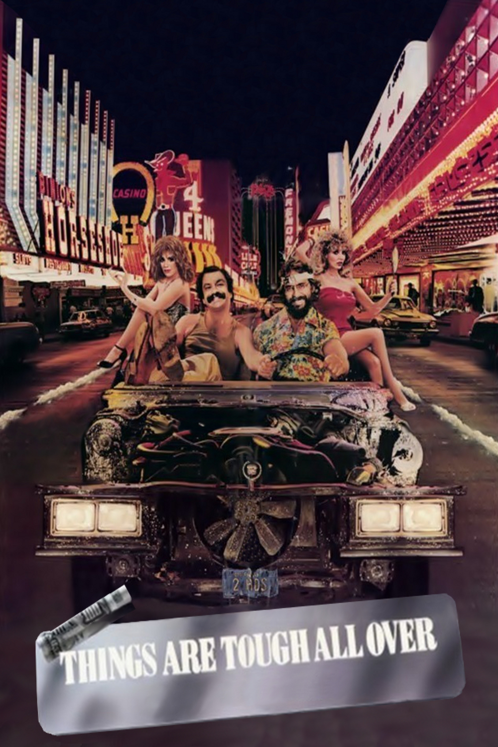 affiche du film Cheech & Chong: Things Are Tough All Over