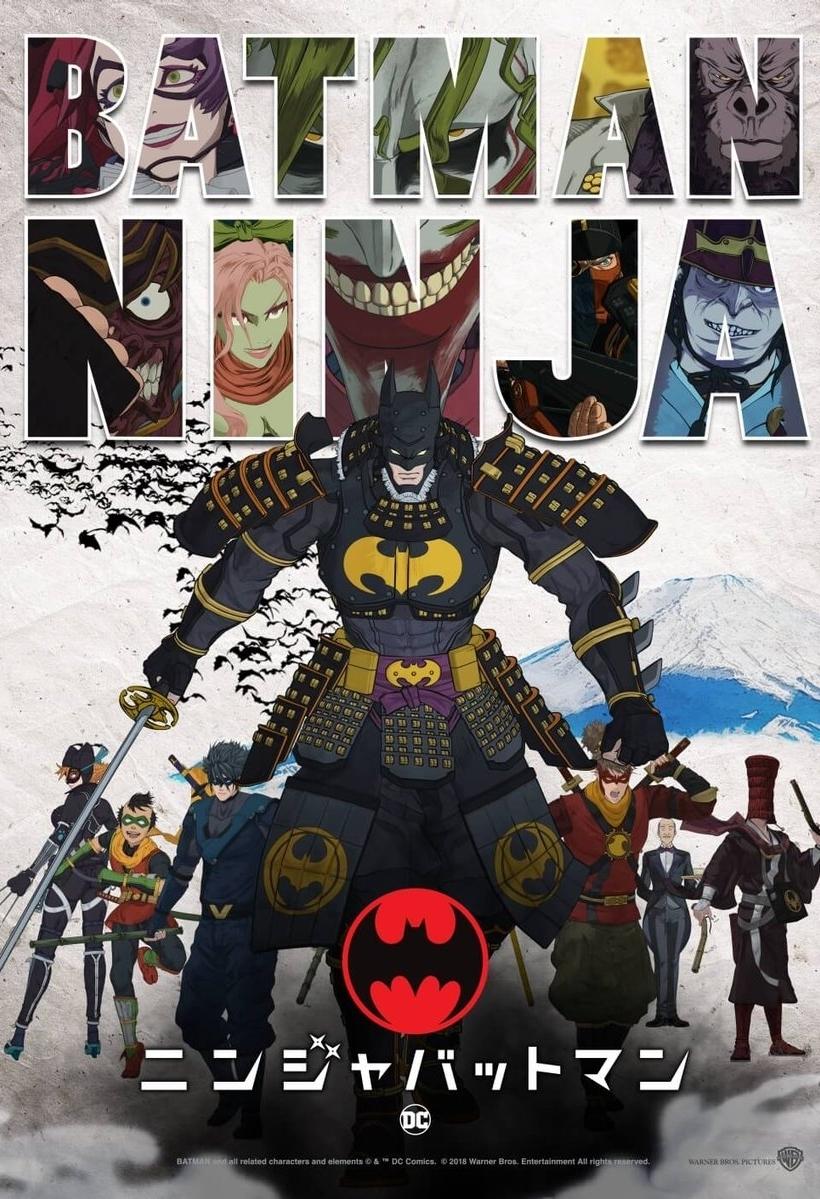 affiche du film Batman Ninja