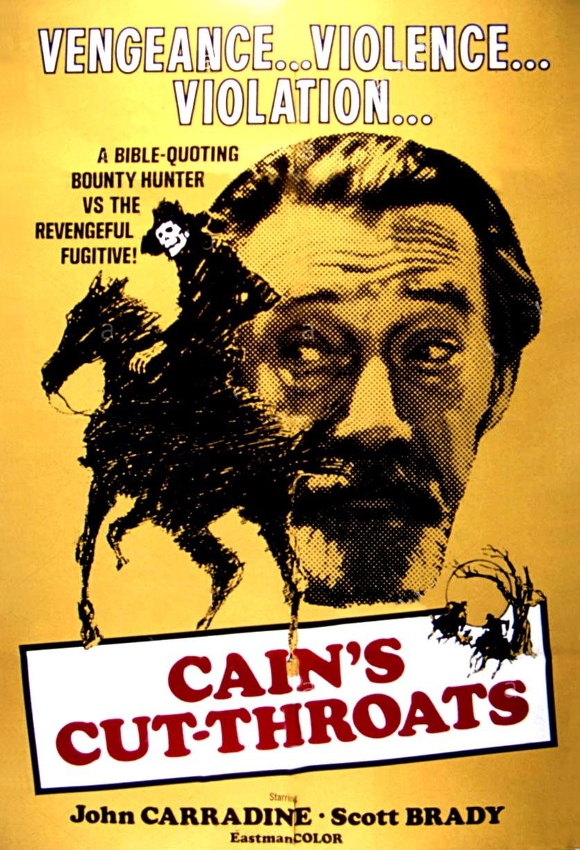 affiche du film Cain's Cutthroats