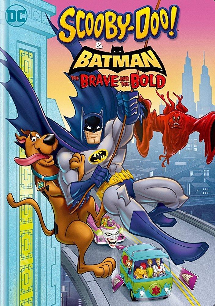 affiche du film Scooby-Doo & Batman : l'alliance des héros