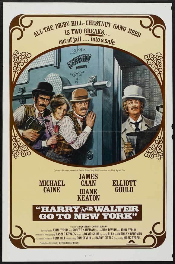 affiche du film Deux farfelus à New York