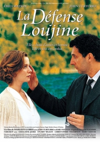 affiche du film La Défense Loujine
