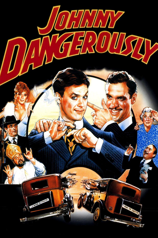 affiche du film Johnny dangerously