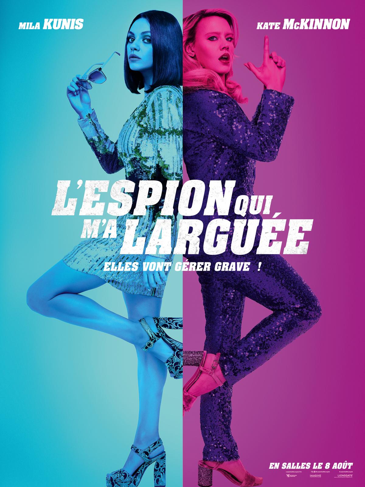 affiche du film L'Espion qui m'a larguée