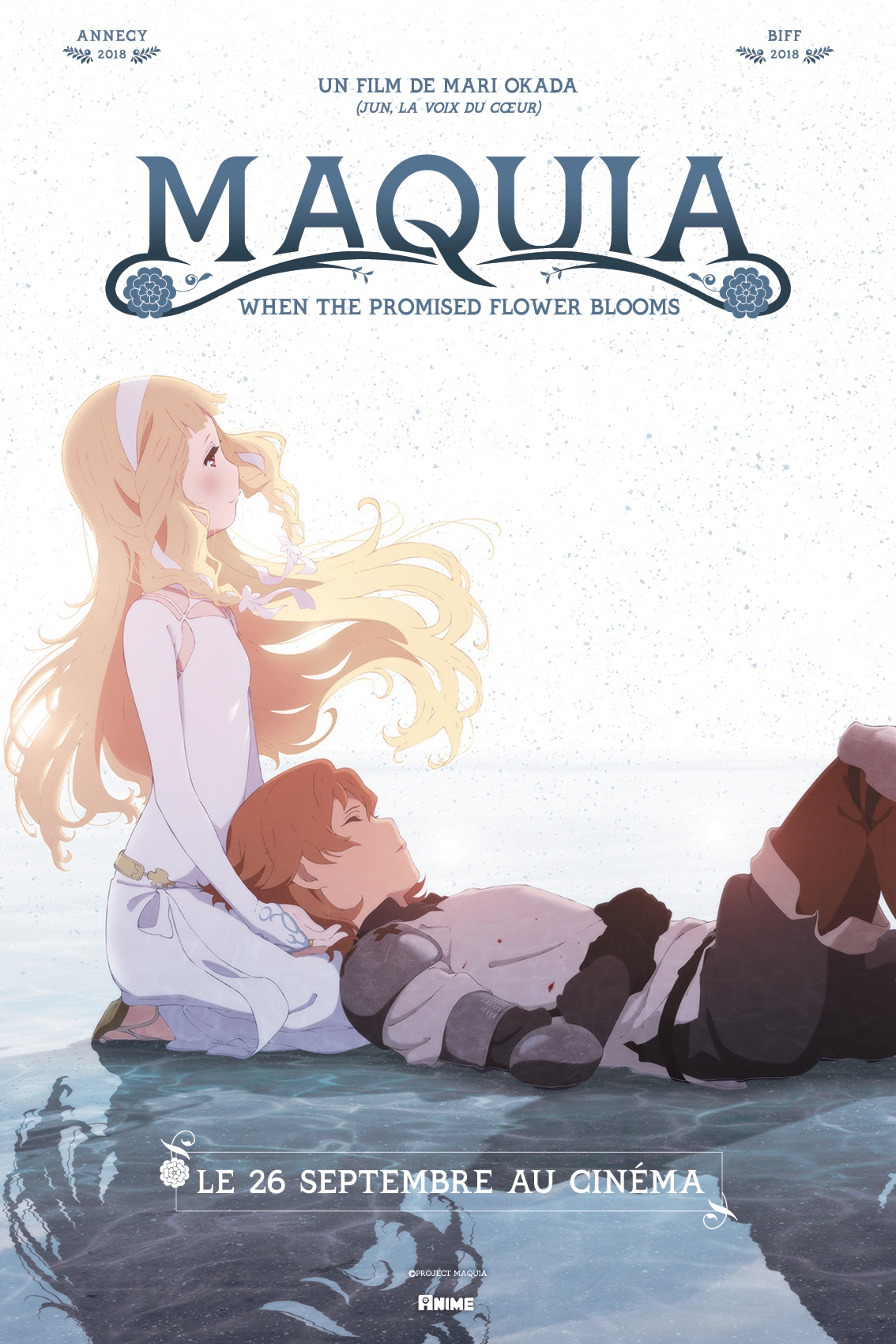 affiche du film Maquia : When the Promised Flower Blooms