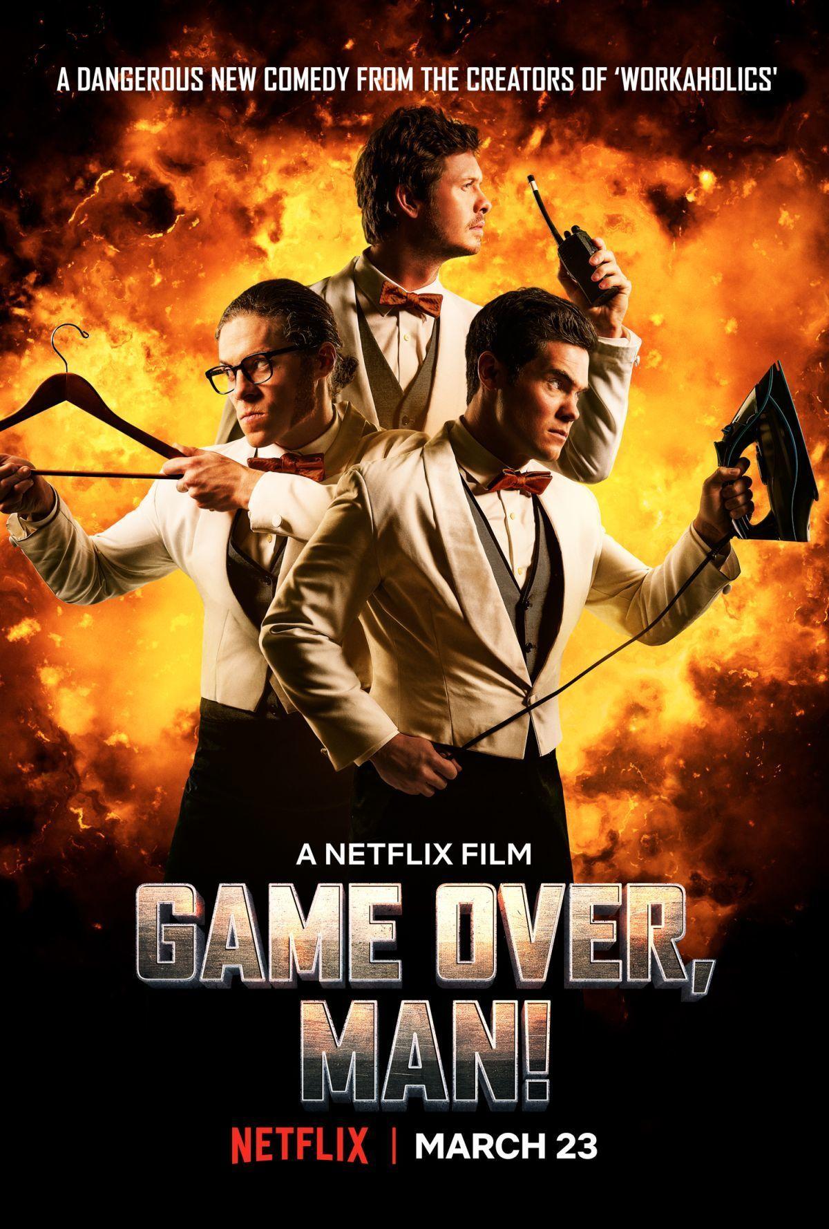affiche du film Game Over, Man!