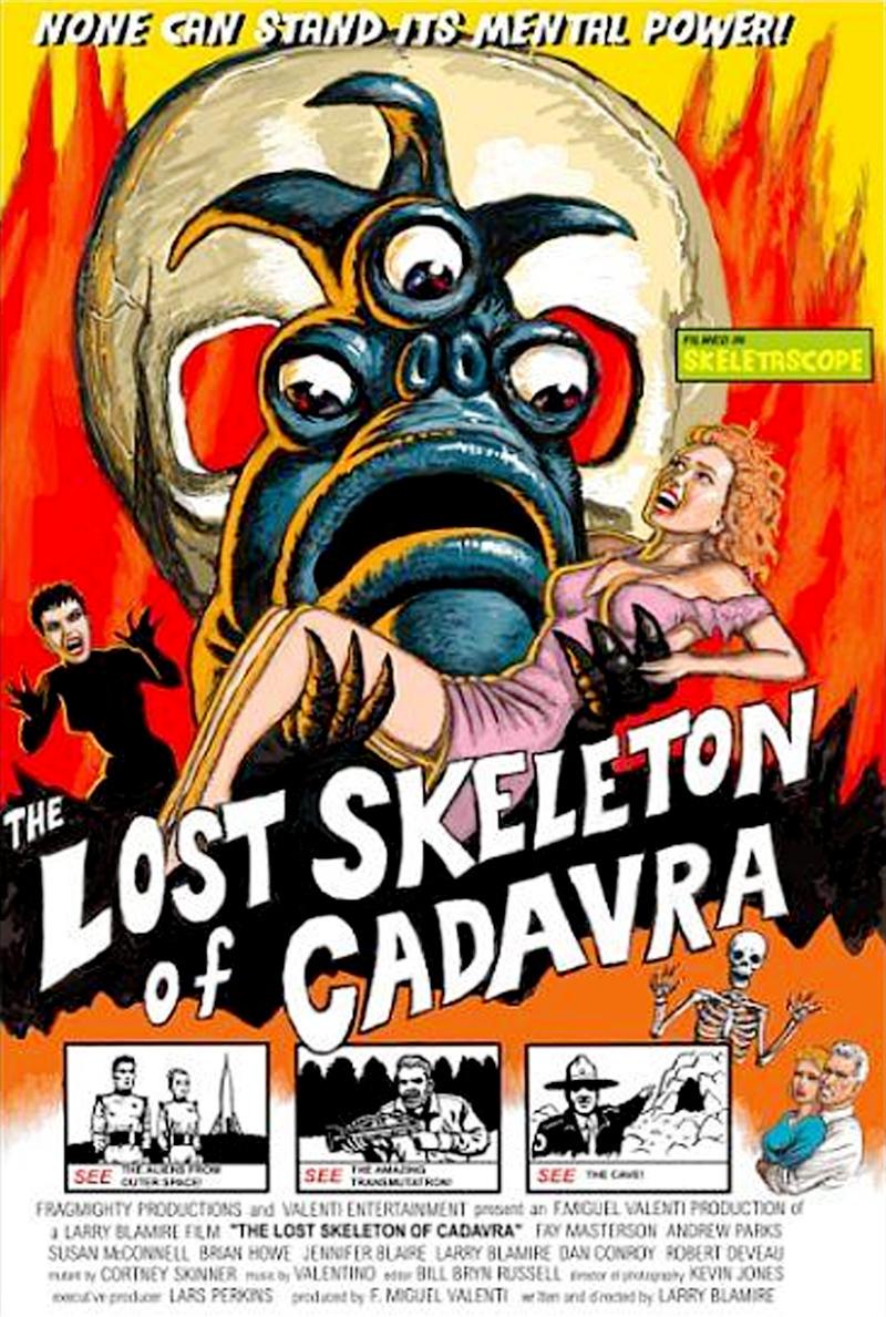affiche du film The Lost Skeleton of Cadavra