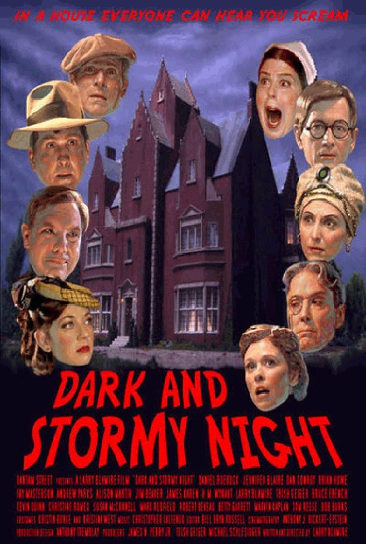 affiche du film Dark and Stormy Night