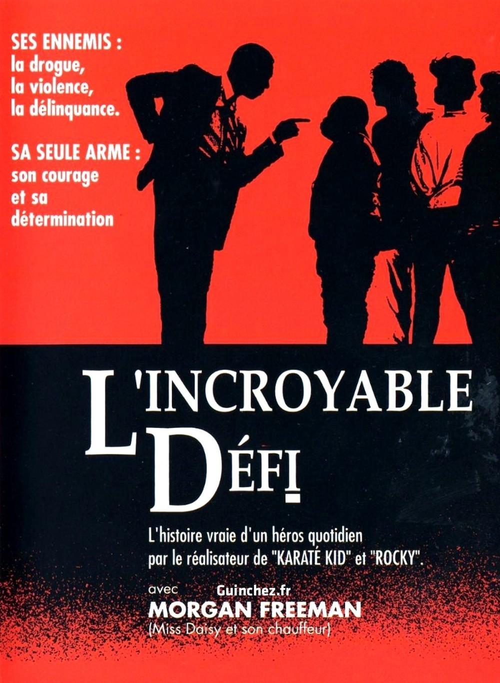 affiche du film L'Incroyable Défi