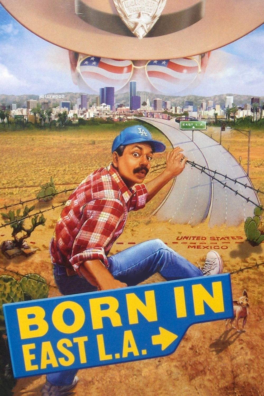 affiche du film Born in East L.A.