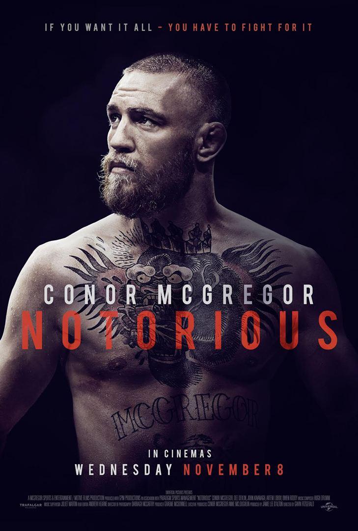 affiche du film Conor McGregor: Notorious