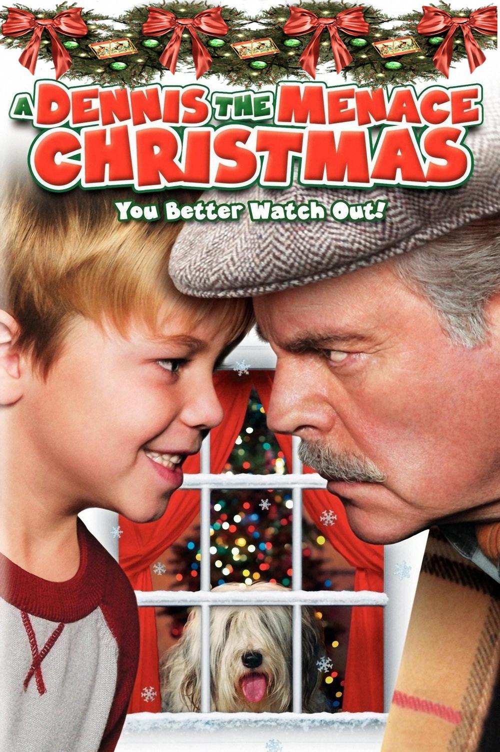 affiche du film A Dennis the Menace Christmas