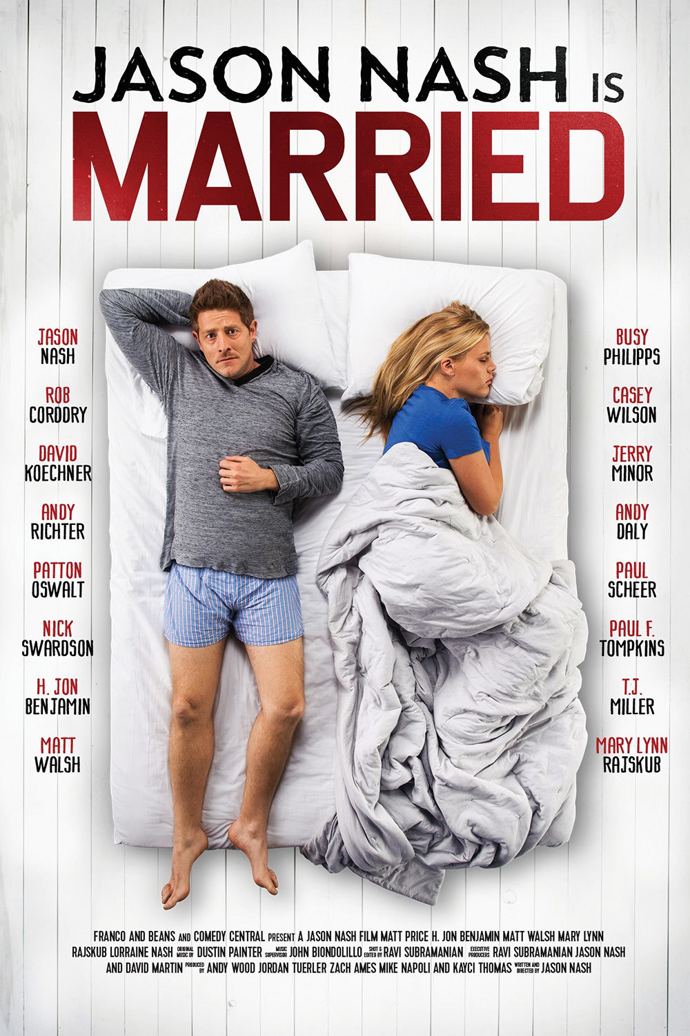 affiche du film Jason Nash is Married
