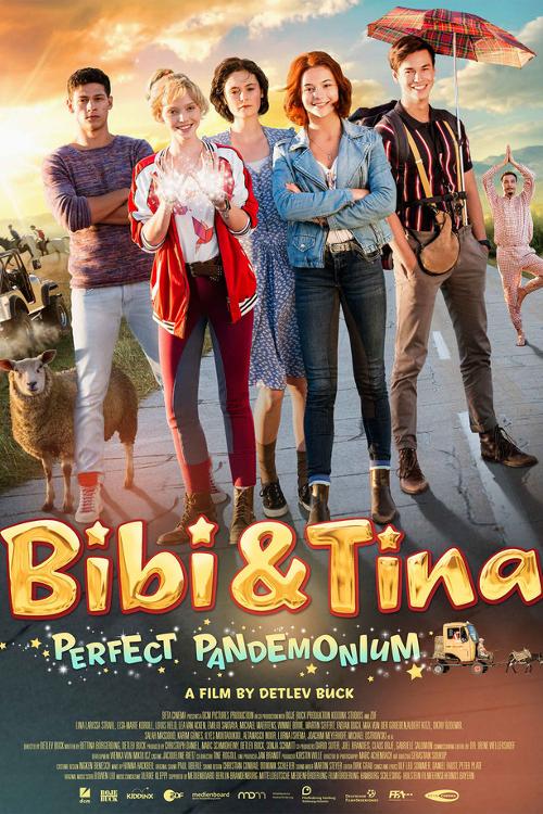affiche du film Bibi & Tina : Tohuwabohu total