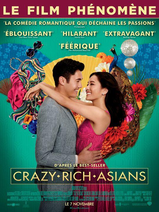 affiche du film Crazy Rich Asians