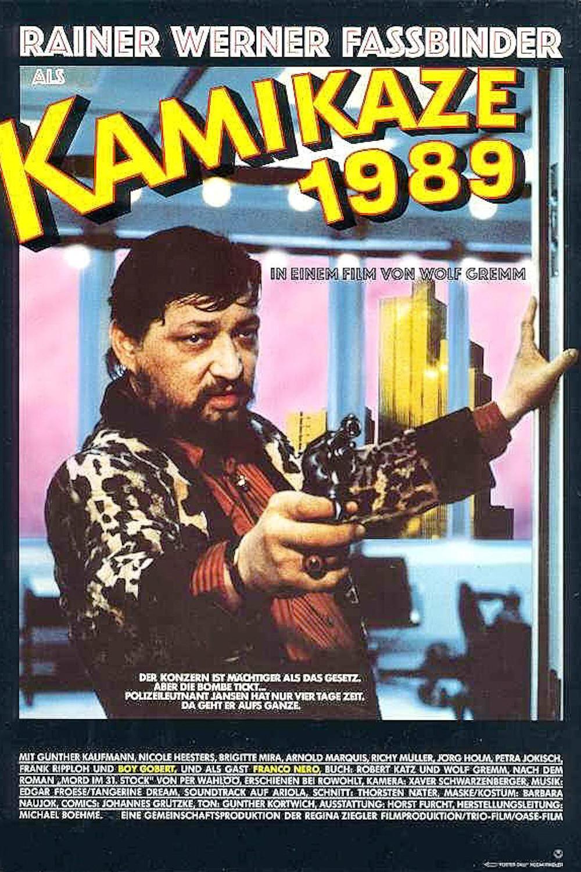 affiche du film Kamikaze 1989