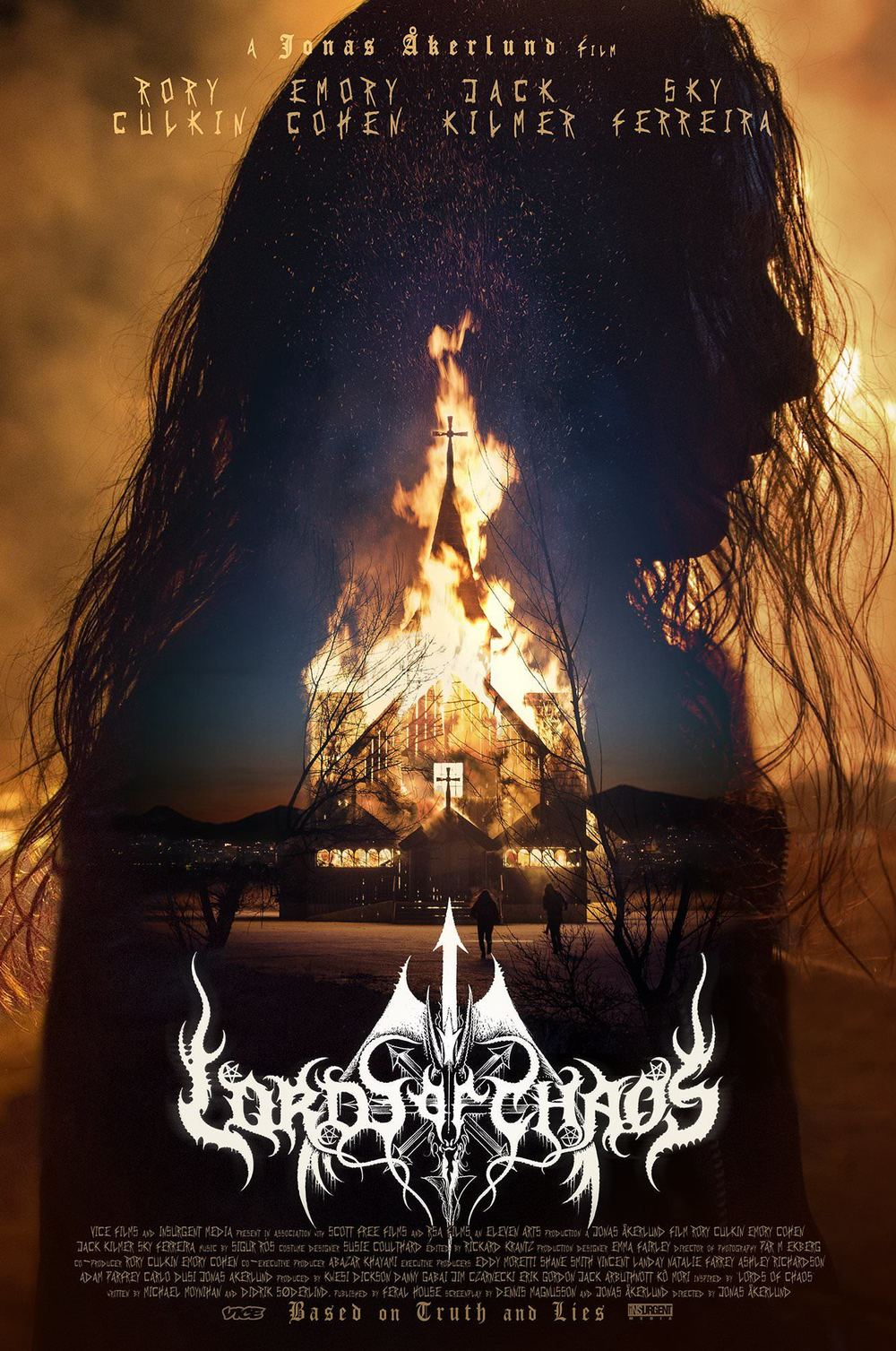 affiche du film Lords of Chaos