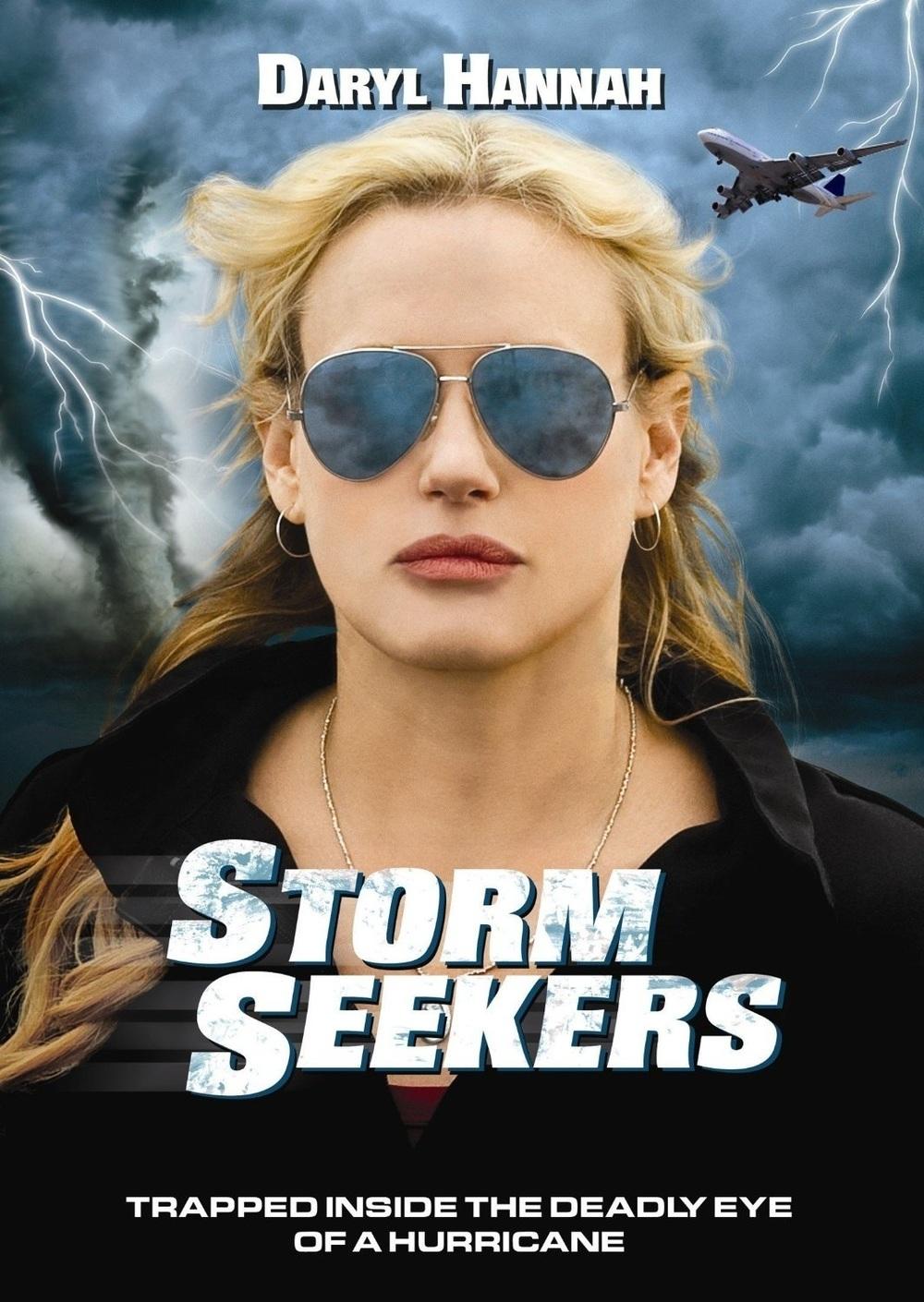 affiche du film Chasseuse de tempêtes
