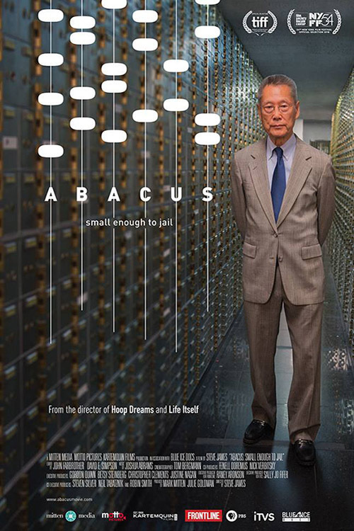 affiche du film Abacus: Small Enough to Jail