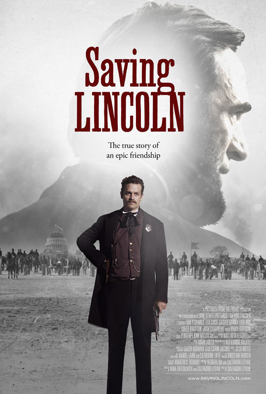 affiche du film Saving Lincoln