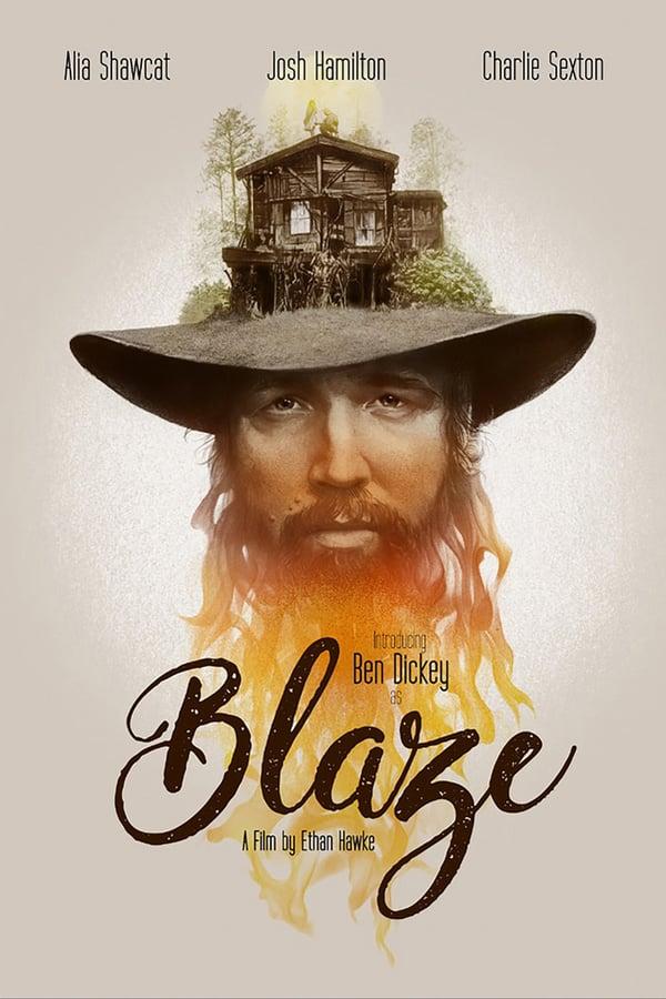 affiche du film Blaze