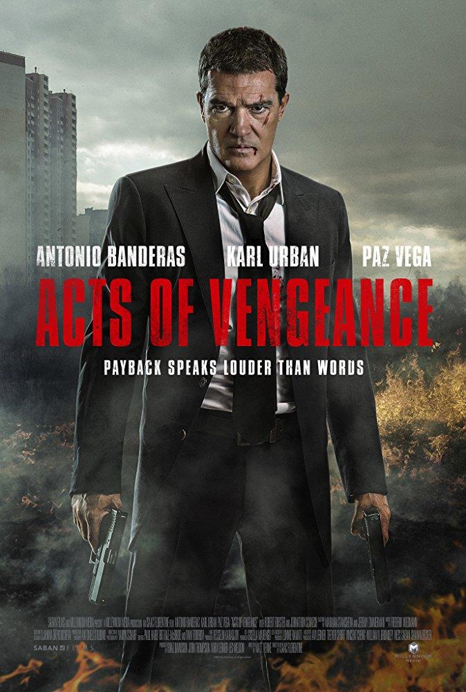 affiche du film Actes de vengeance