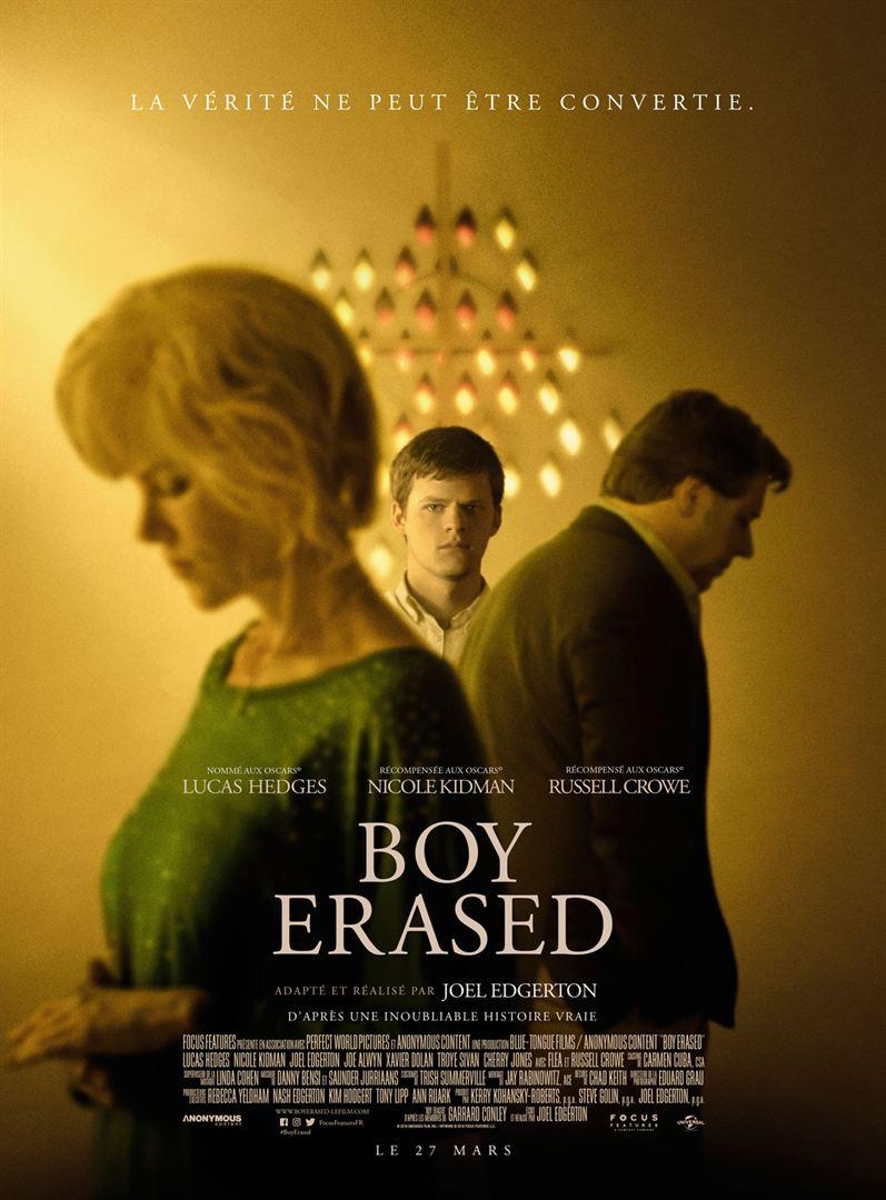 affiche du film Boy Erased