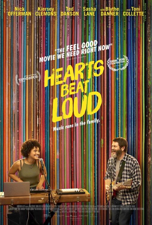 affiche du film Hearts Beat Loud