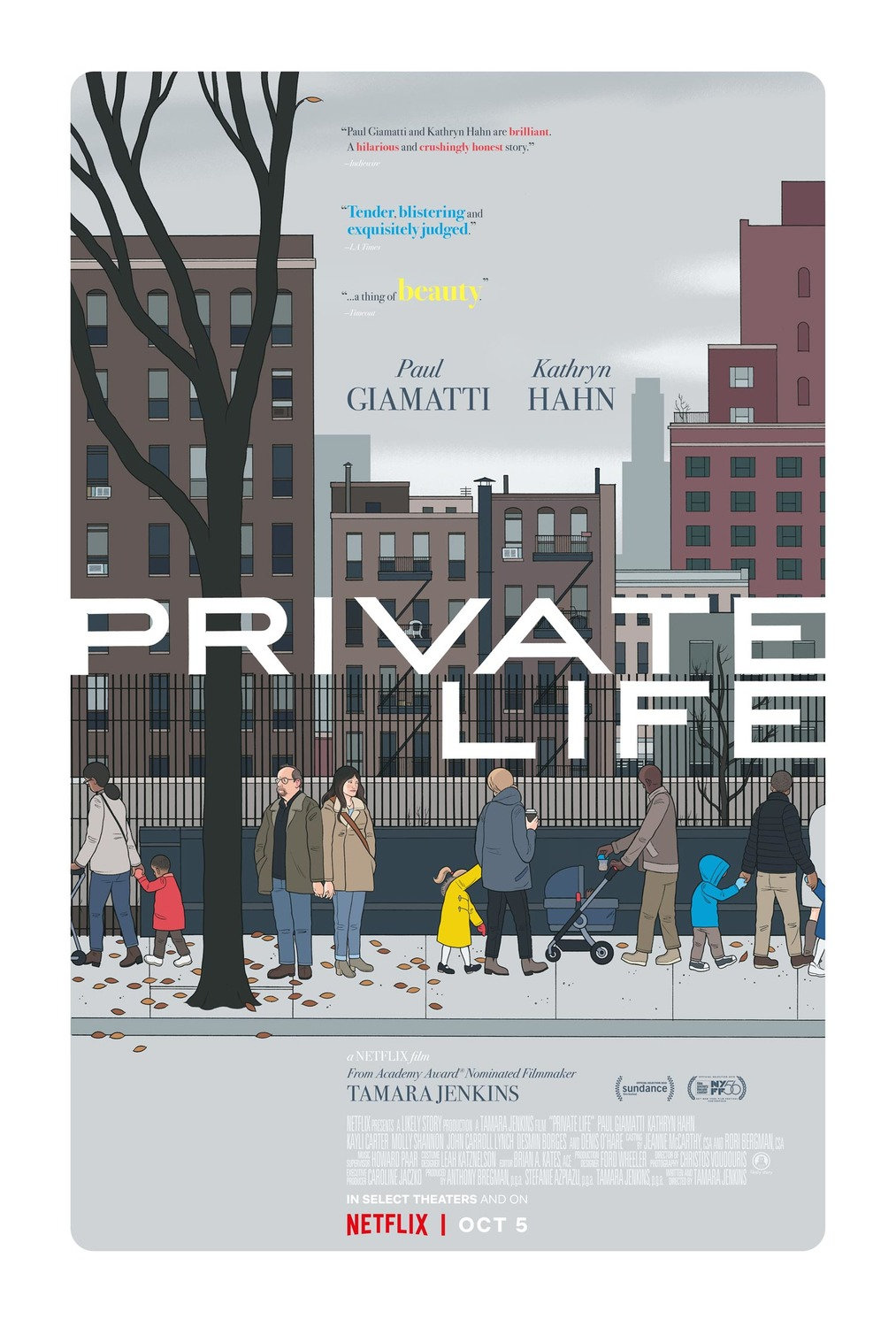 affiche du film Private Life