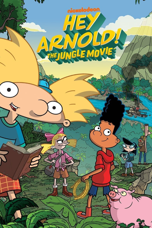 affiche du film Hey Arnold! The Jungle Movie