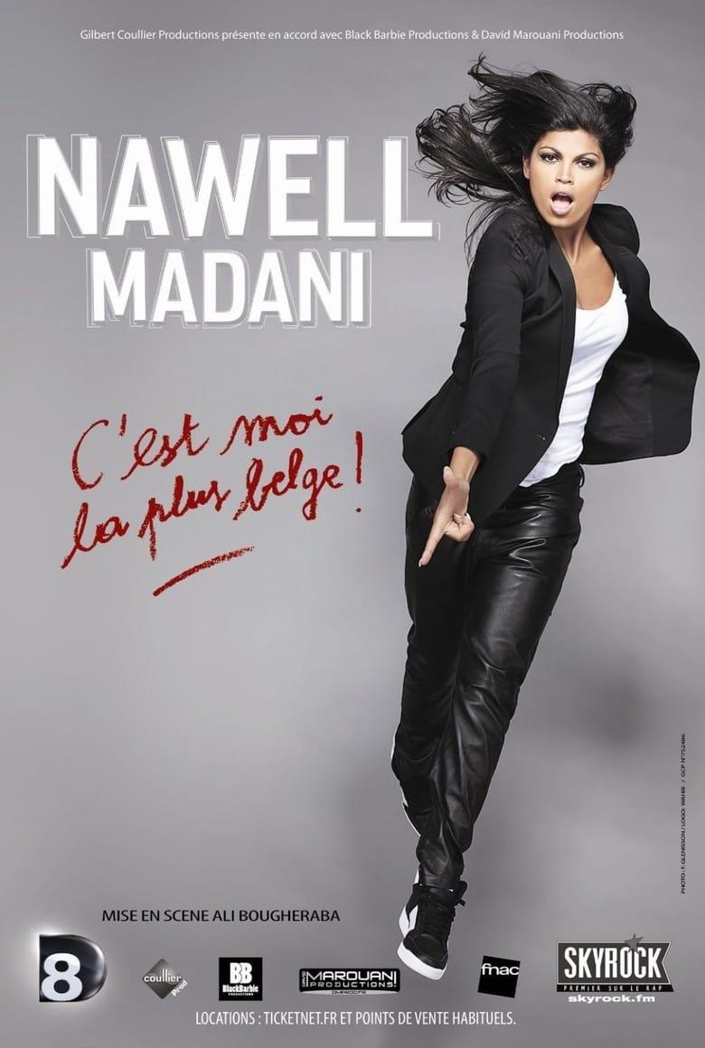 affiche du film Nawell Madani : C'est moi la plus belge !