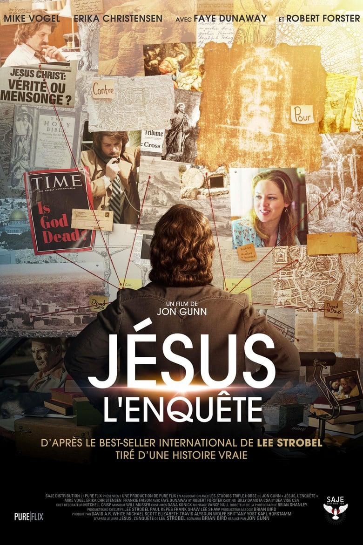 affiche du film Jésus, l'enquête