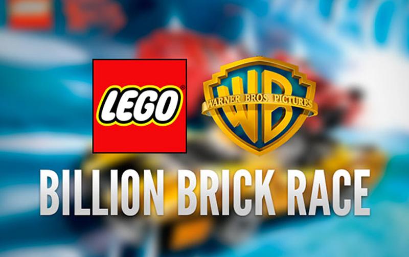 affiche du film The Billion Brick Race