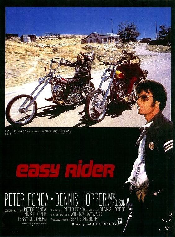 affiche du film Easy Rider