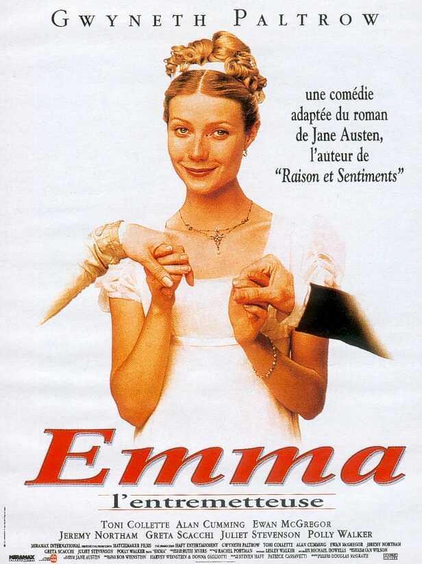 affiche du film Emma, l'entremetteuse
