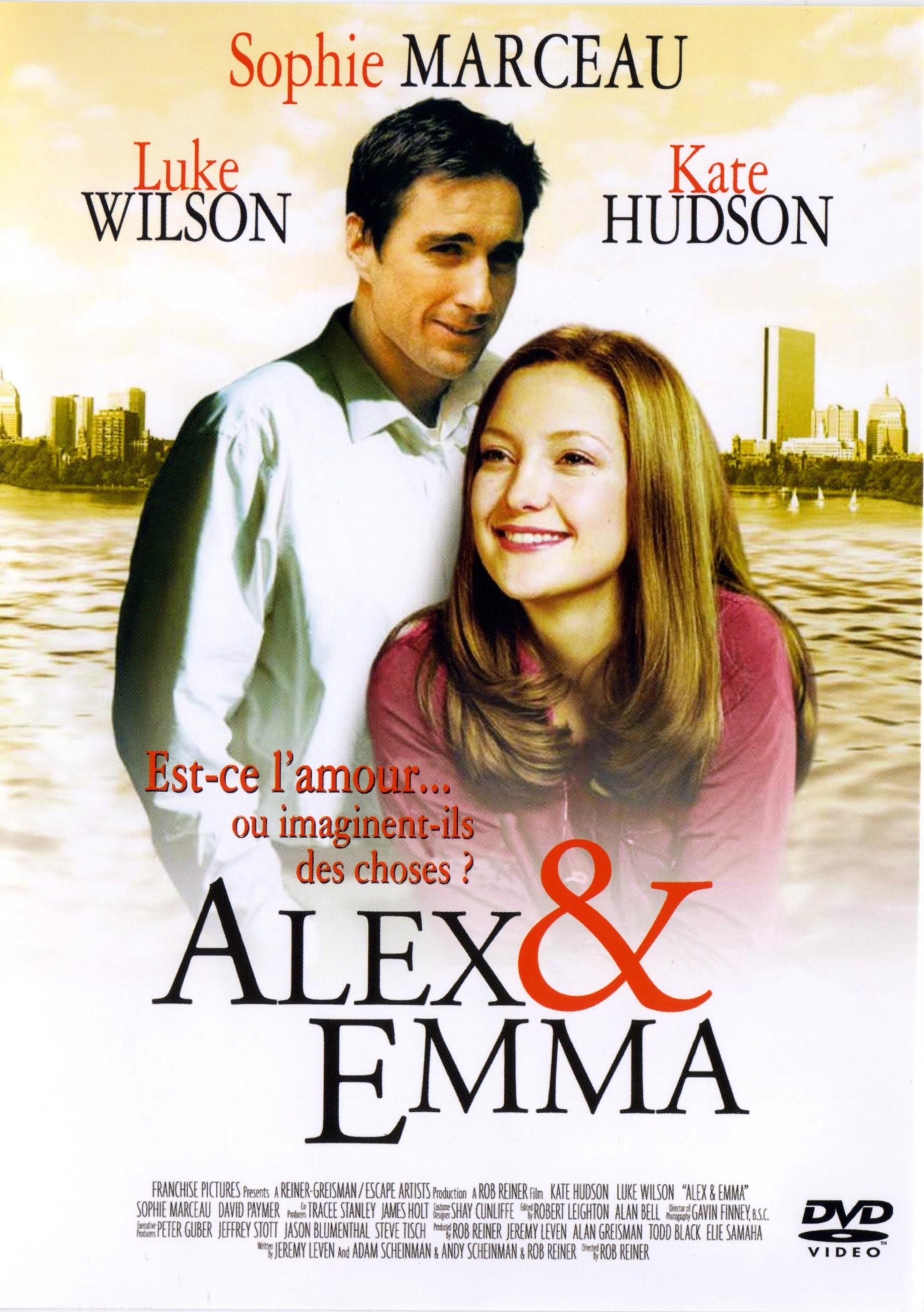 affiche du film Alex et Emma