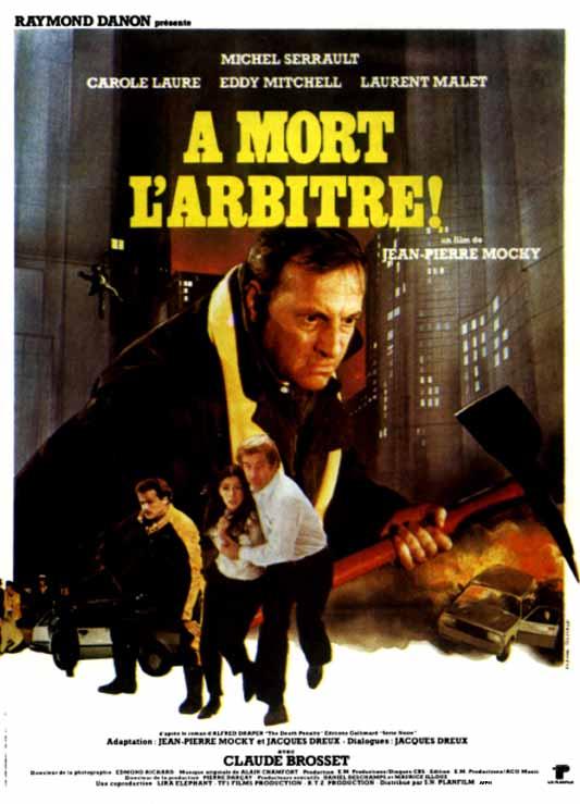 affiche du film À mort l'arbitre !