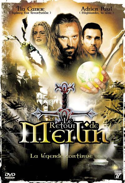 affiche du film Le retour de Merlin