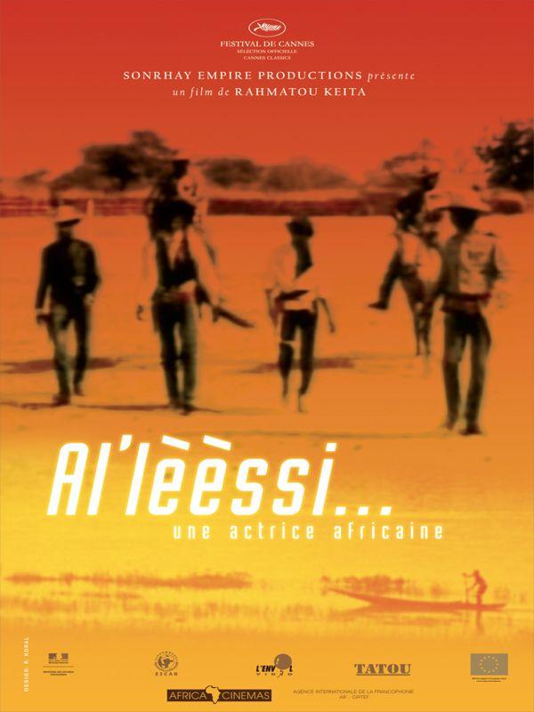 affiche du film Al'lèèssi, une actrice africaine