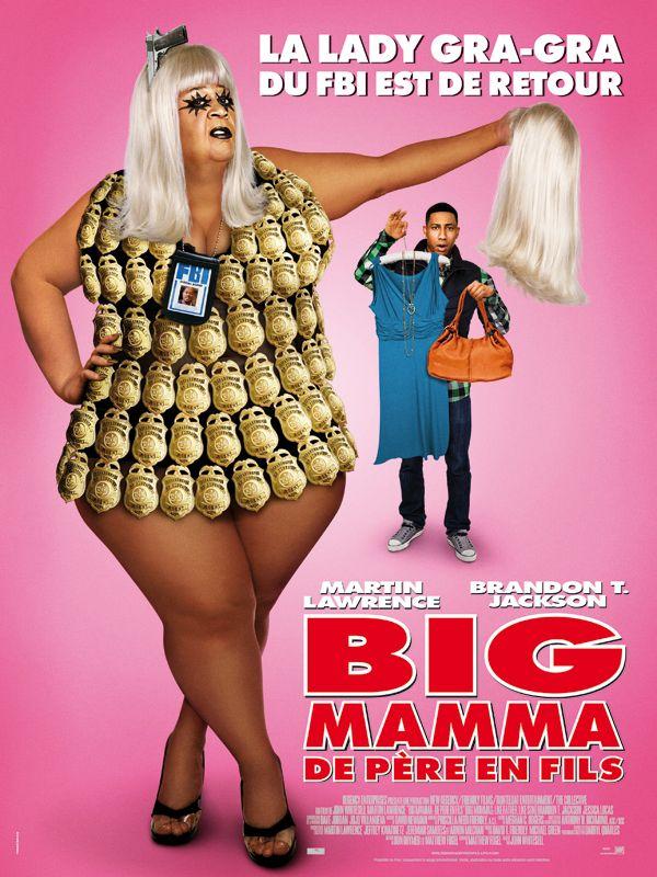 affiche du film Big Mamma: de père en fils