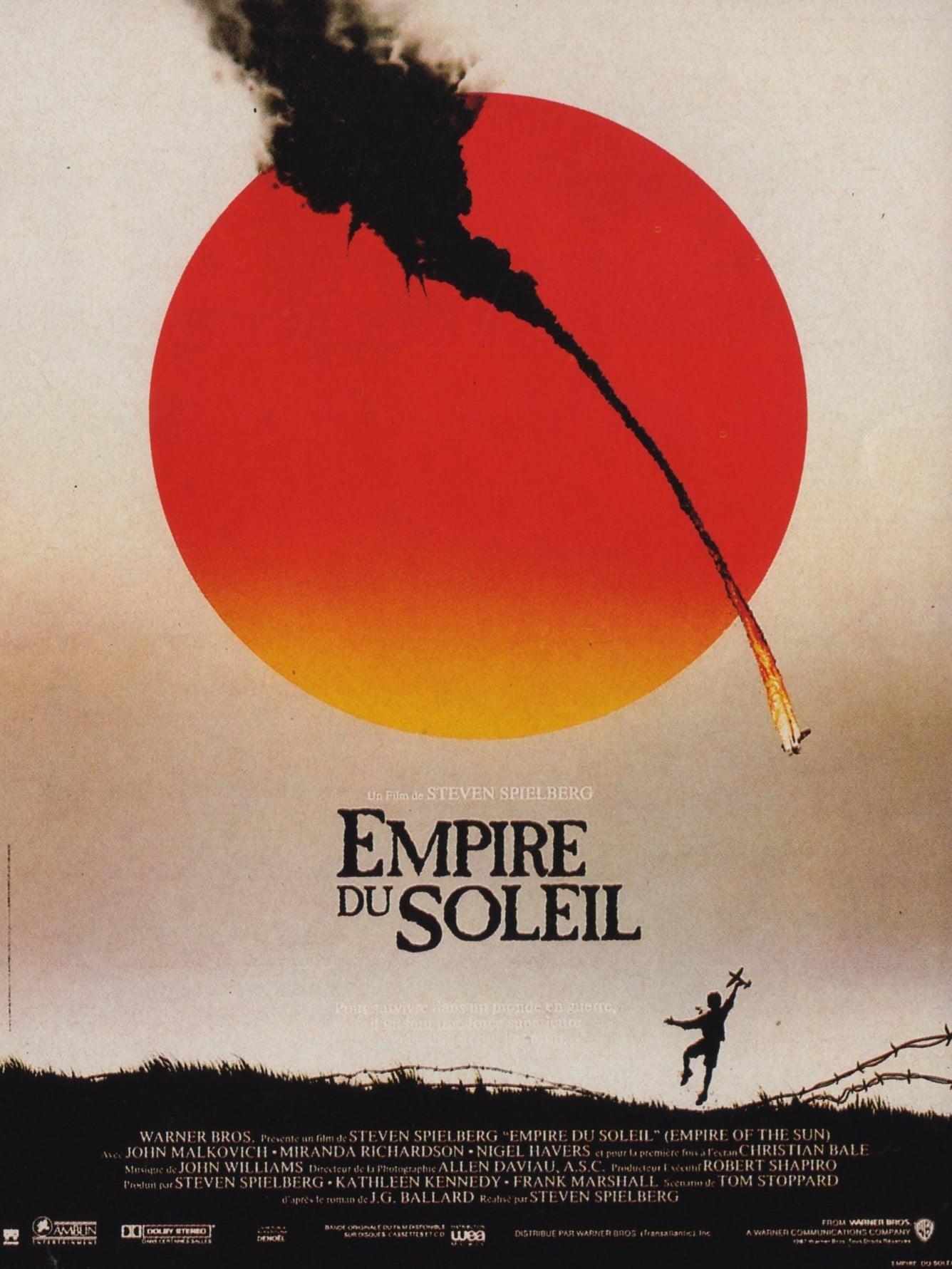 affiche du film Empire du soleil