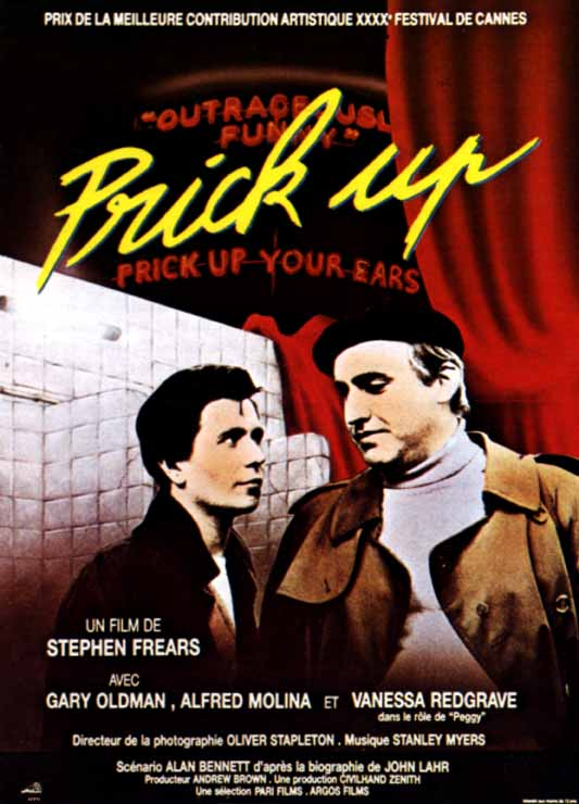 affiche du film Prick Up Your Ears