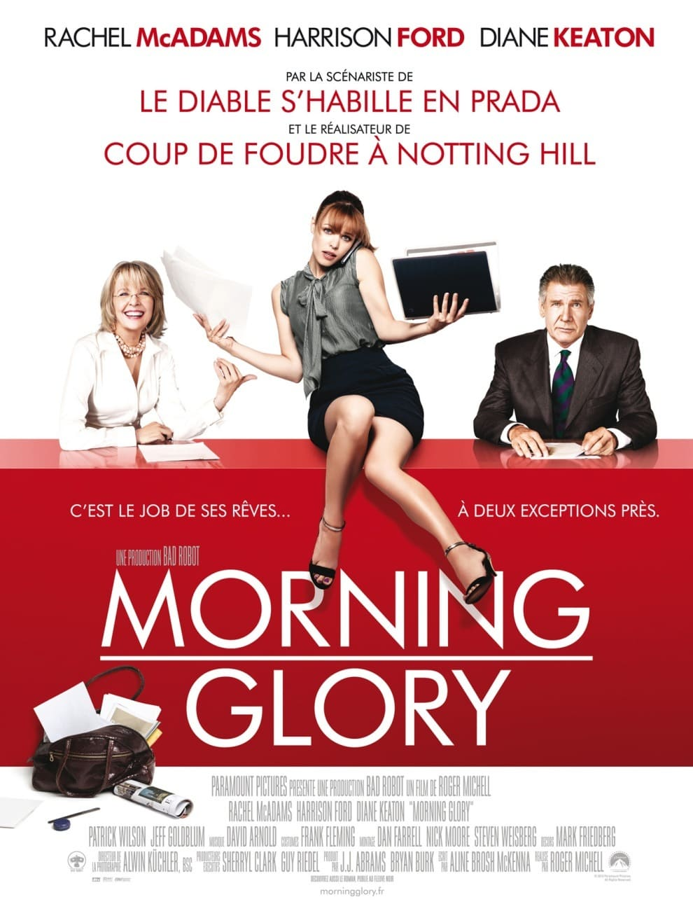 affiche du film Morning Glory