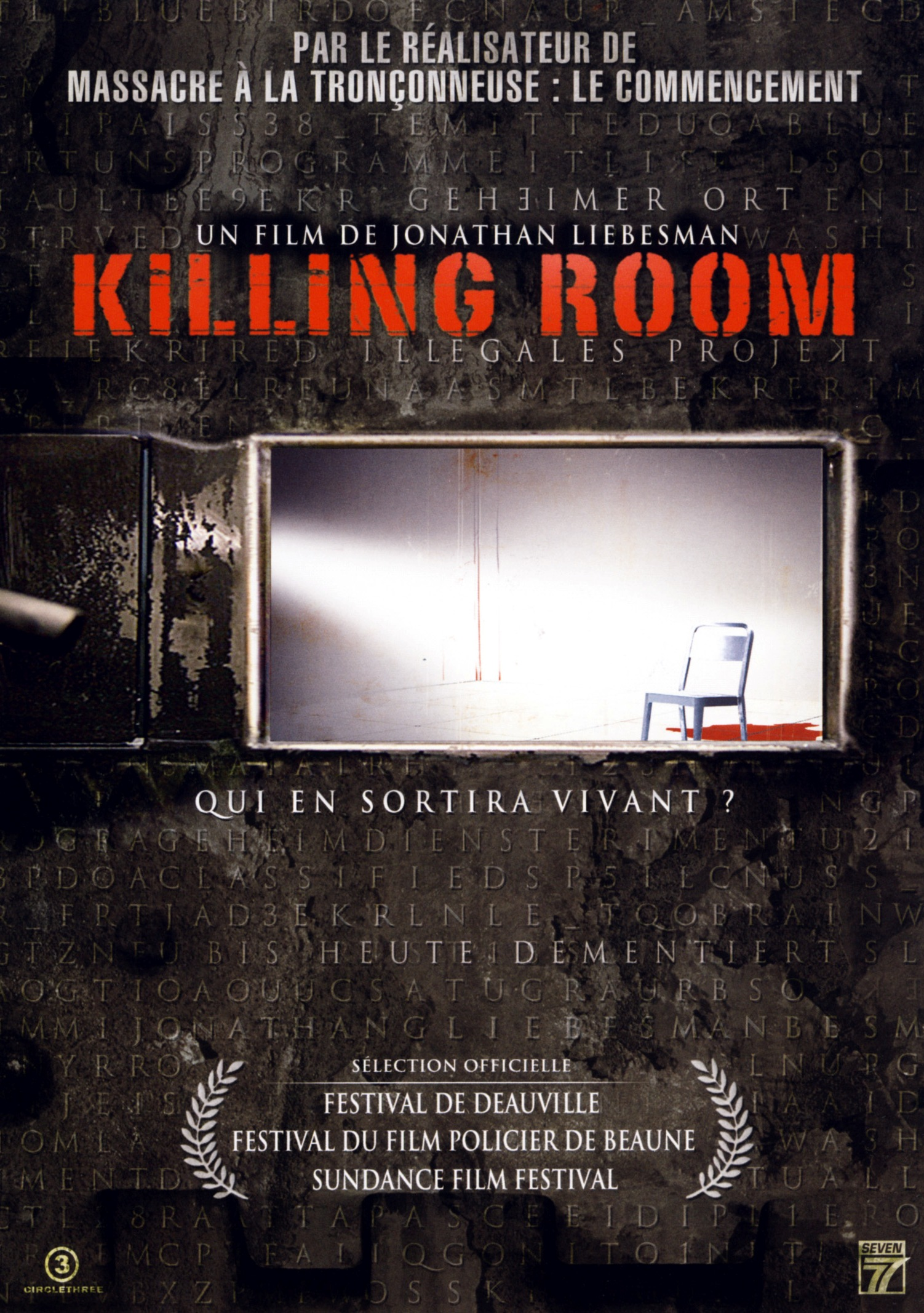 affiche du film Killing Room