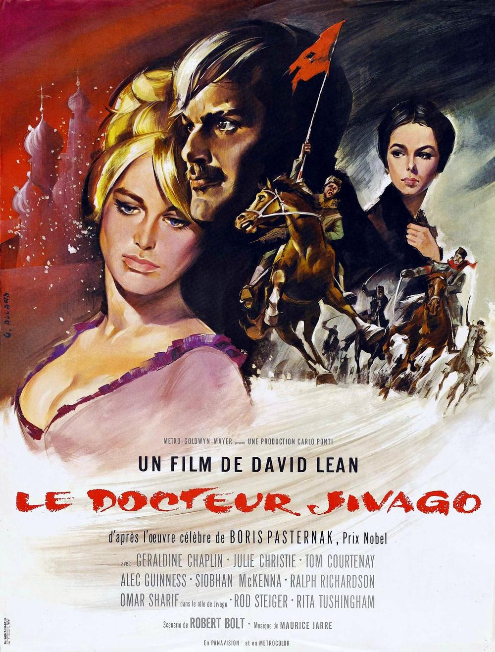 affiche du film Le docteur Jivago