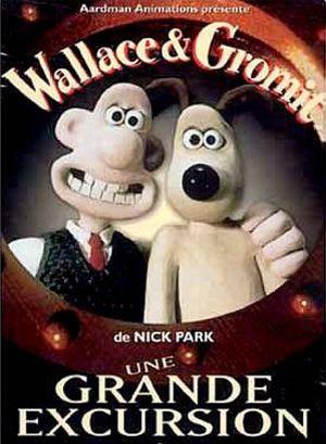 affiche du film Wallace et Gromit : Une grande excursion