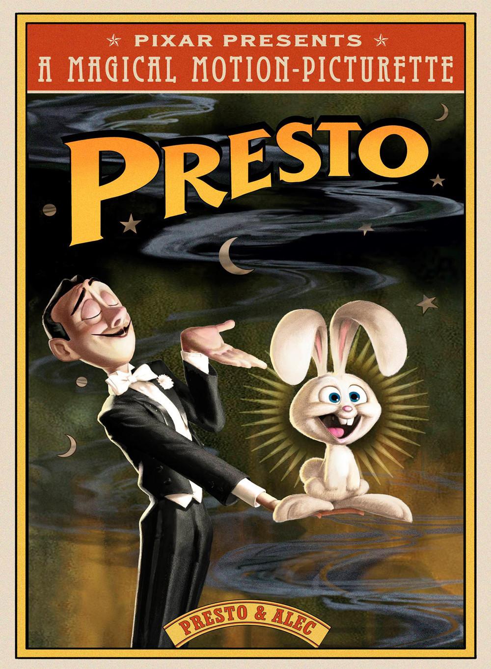 affiche du film Presto