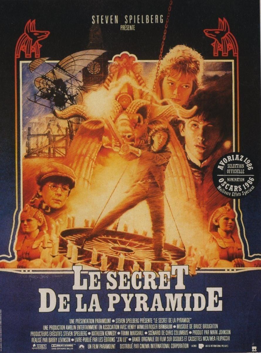 affiche du film Le Secret de la pyramide