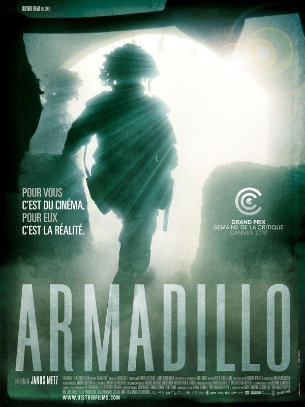 affiche du film Armadillo, dans le piège afghan