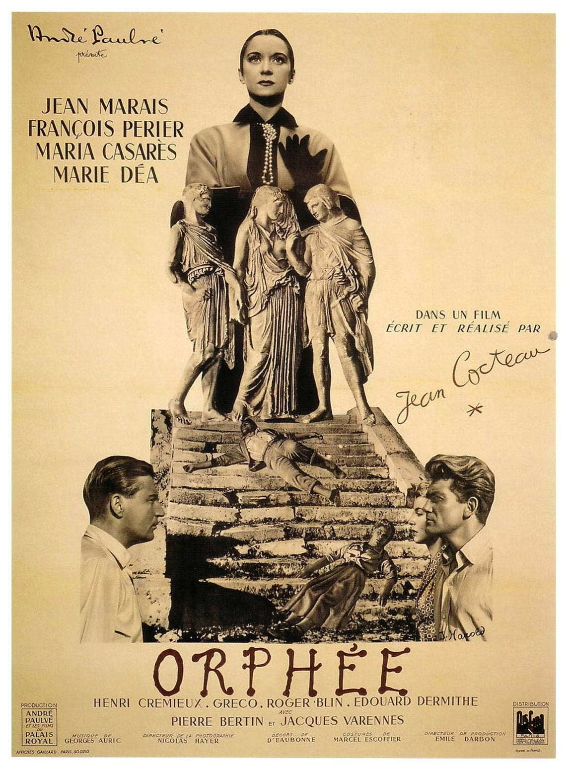 affiche du film Orphée